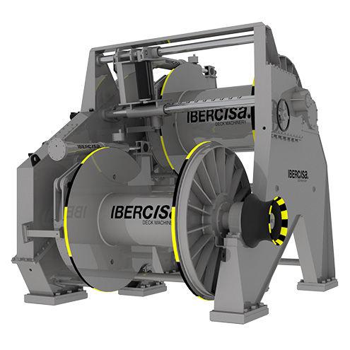 Tugboat winch / towing / hydraulic drive / single-drum Ibercia - Iber Comercio e Industria, S.A.