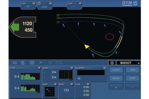 Ship monitoring system ISYM FLYSHOOT Scantrol AS