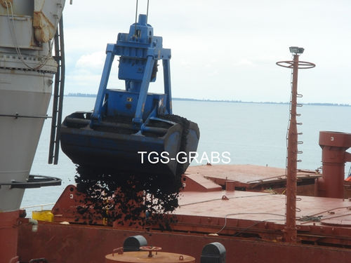 Bulk cargo grab / for bulk carriers / for ships SINGLE LINE The Grab Specialist BV