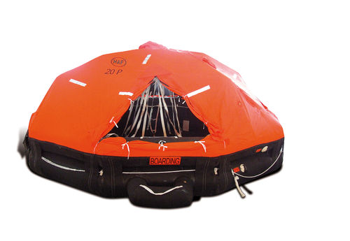 Ship liferaft / offshore / SOLAS / davit-launched 5310X series SeaCurity GmbH