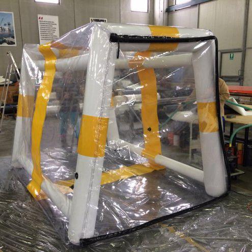 Shipyard portable watertight chamber Vira Soluzioni