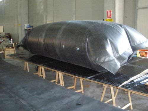 Oil tank / temporary storage / self-supporting Vira Soluzioni