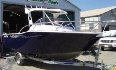 outboard walkaround / day fishing / aluminum