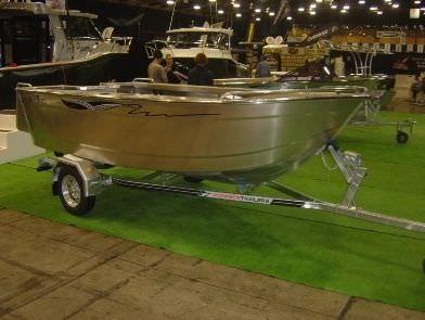 utility boat / outboard / aluminum