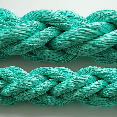 mooring cordage / laid / for sailboats / polypropylene core