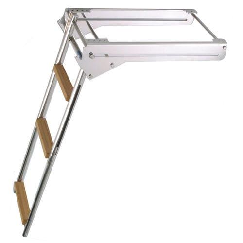 boat ladder / retractable / telescopic / swim