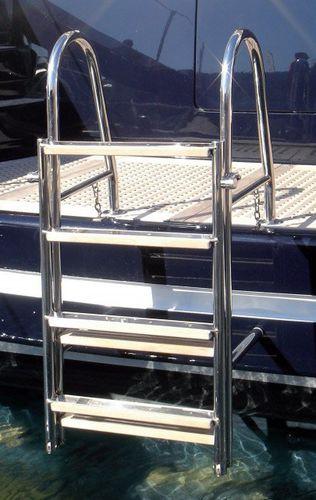 boat ladder / folding / swim / manual