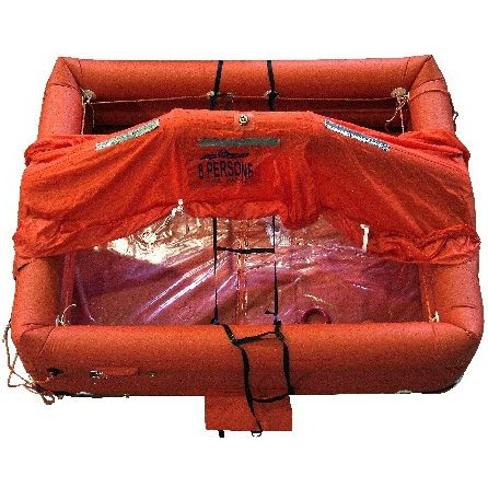 ship liferaft / ISO 9650-2 / ISO 9650-1 / inflatable