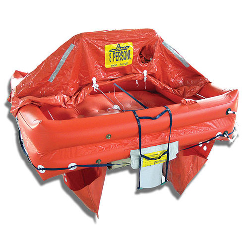 ship liferaft / ISO 9650-2 / inflatable