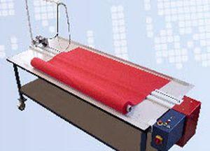 semi-automatic cutting table / fixed-bed / shipyard
