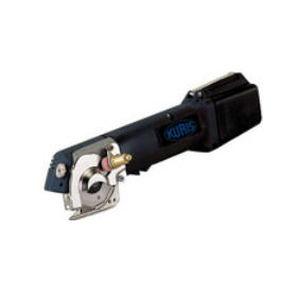 rotary-knife cutting machine / battery-powered / shipyard
