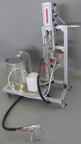gelcoat spraying machine / external mixing / shipyard