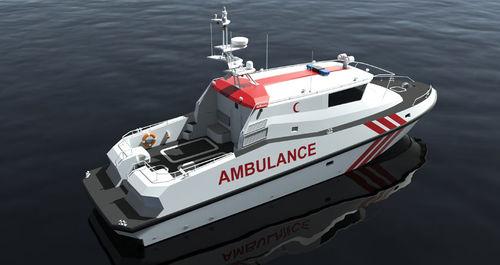 ambulance boat / inboard