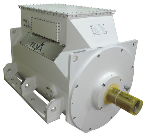 inboard electric motor / ship propulsion / permanent magnet