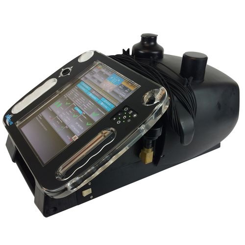 Diver navigation and location system with sonar DDIS-500 Diver Visual Sonar RJE International Inc.