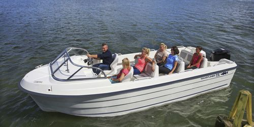 sightseeing boat / outboard