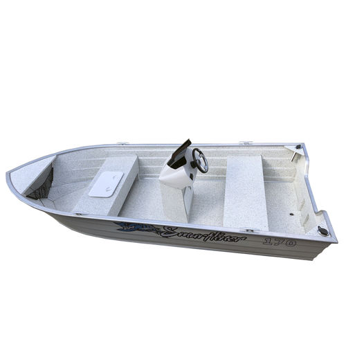 aluminum small boat / outboard / open / center console