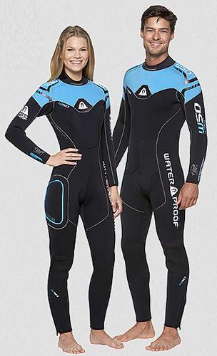 dive wetsuit / full / long-sleeve / unisex