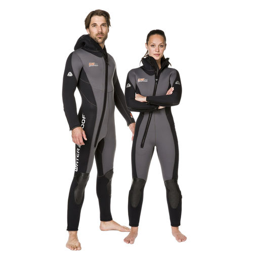 dive wetsuit / full / long-sleeve / with hood