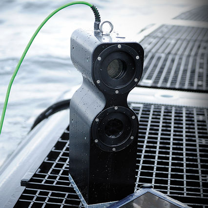 control system / video surveillance system / for aquaculture / biomass