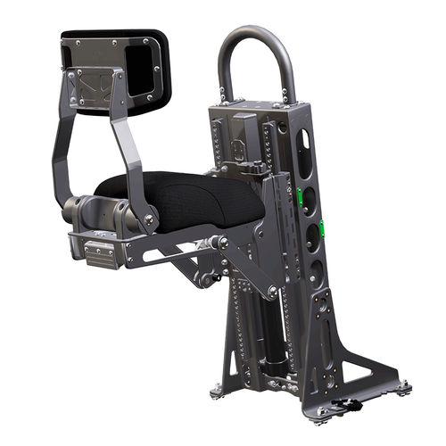 jockey seat / for professional boats / with suspension / 1-person