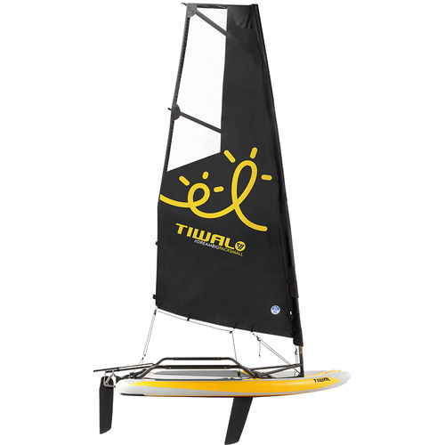 single-handed sailing dinghy / double-handed / children's / regatta