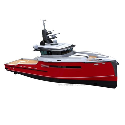 platform supply vessel (PSV) offshore support vessel / crew transfer