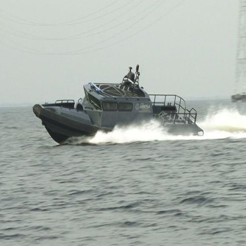 military boat / inboard / rigid hull inflatable boat