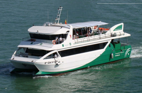 tourist excursion passenger ship / catamaran