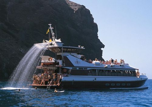 sightseeing boat / catamaran / inboard
