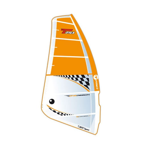 racing windsurf sail / freeride / one design / 6-batten