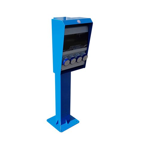 water supply pedestal / electrical distribution / for docks