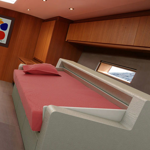 double bed stabilizer / for boats / for yachts / for ships