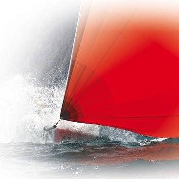 woven sailcloth / spinnaker / polyester