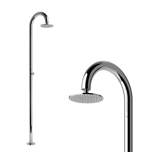 yacht shower / boat deck / stainless steel