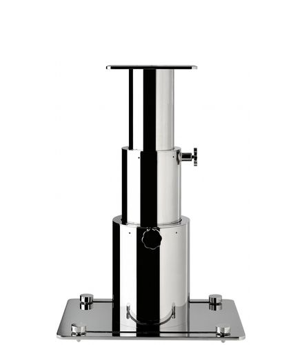 Telescopic boat table pedestal / stainless steel Low Profile Telescopic Mounting Inoxstyle