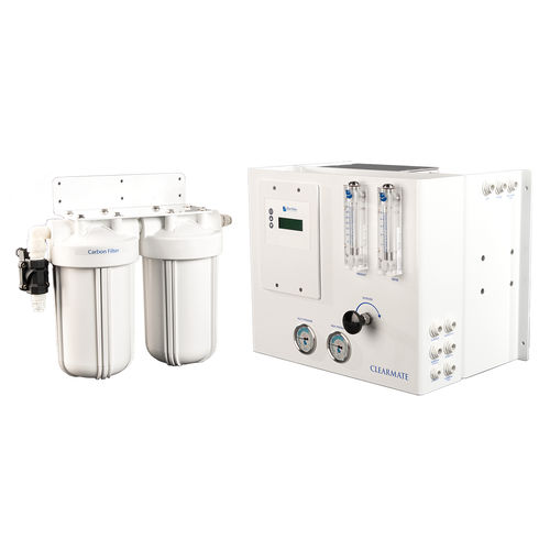 fresh water treatment system / for yachts / for boats / with filter