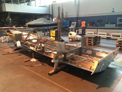 outboard inflatable boat / RIB / hard-top / aluminum