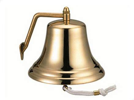 boat bell / fog / brass