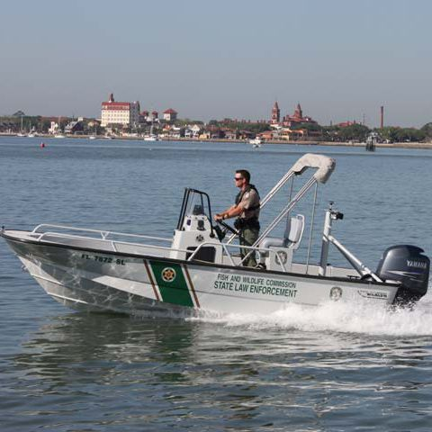 Outboard patrol boat 19' GUARDIAN Brunswick Commercial and Government Products