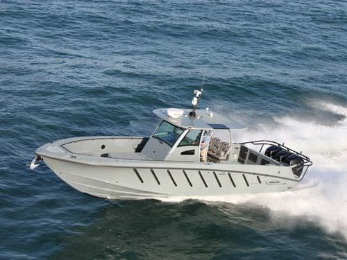 Outboard patrol boat 37' JUSTICE Brunswick Commercial and Government Products