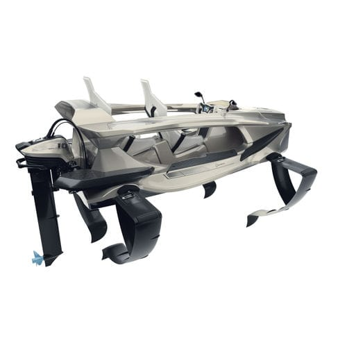 outboard small boat / electric / 2-place / hydrofoil