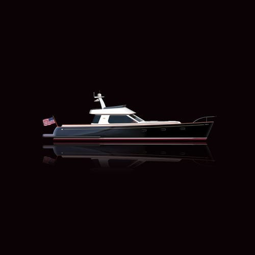 cruising motor yacht / classic / flybridge / hard-top