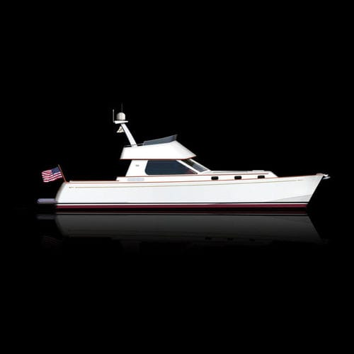inboard express cruiser / twin-engine / hard-top / cruising