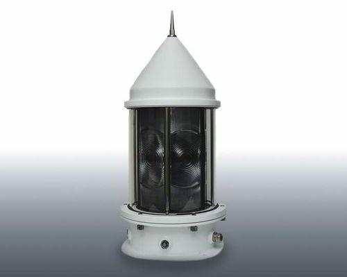 beacon signalling light / LED / white / rotating