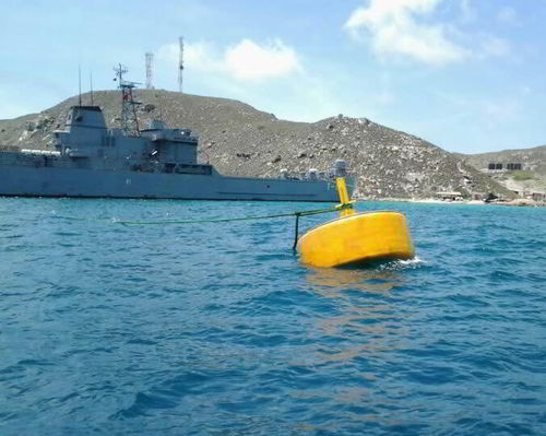 mooring buoy / for terminals / with signal light