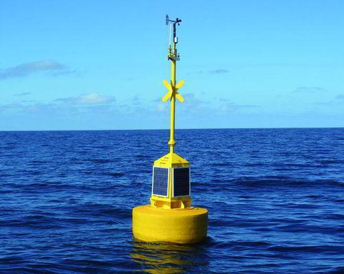 weather buoy / oceanographic / beacon / high seas
