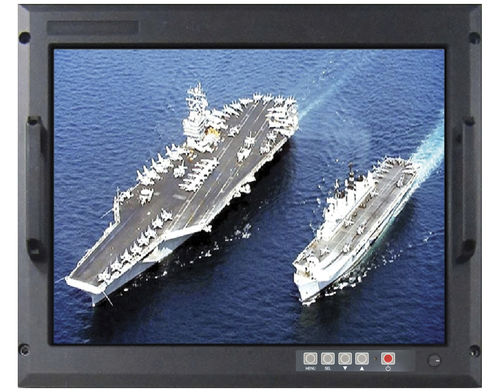 military vessel display / multi-function / sunlight-readable