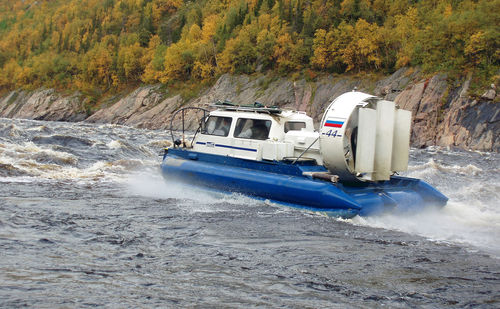 commercial hovercraft / private / rescue / patrol