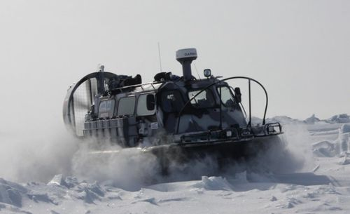 commercial hovercraft / private / patrol / rescue